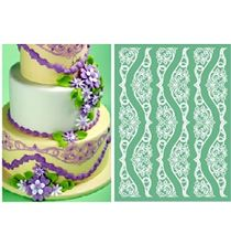 Picture of PAVONI  MAGIC DÉCOR PREMIUM SILICONE LACE MAT 30 X 40CM