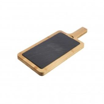 Picture of BAMBOO & SLATE SERVING BOARD