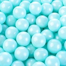 Picture of PEARLY LIGHT BLUE PEARLS 4MM X 1 GRAM MINIMUM ORDER 50G