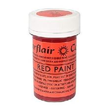 Picture of SUGARFLAIR EDIBLE RED PAINT 20G