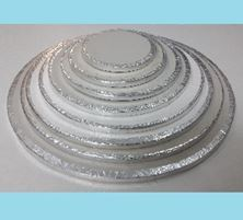 Picture of 8 INCH ROUND CAKE BOARD