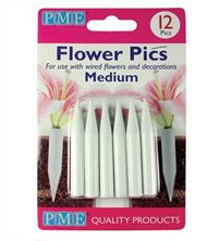 Picture of MEDIUM FLOWER PICKS X 12