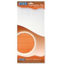 Picture of PME IMPRESSION MAT LARGE SQUARE DESIGN 150 X 305MM