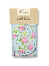 Picture of VINTAGE FLORAL DOUBLE OVEN GLOVE