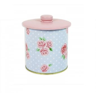 Picture of AFTERNOON TEA STORAGE CANISTER WITH LID 11X11CM