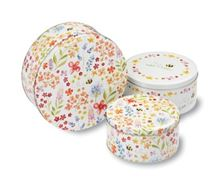 Picture of BEE HAPPY SET OF 3 ROUND CAKE TINS