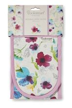 Picture of CHATSWORTH FLORAL DOUBLE OVEN GLOVE