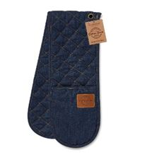 Picture of OXFORD DENIM DOUBLE OVEN GLOVE