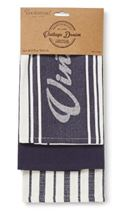 Picture of OXFORD DENIM 3 PACK TEA TOWEL