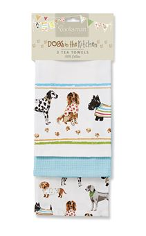 Picture of BEST IN SHOW 3 PACK TEA TOWEL