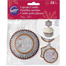Picture of WILTON SNOWFLAKE COMPO PACK