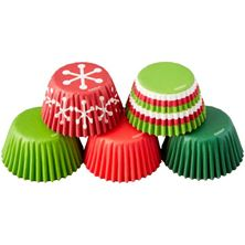 Picture of HOLIDAY TUBE MINI BAKING CUPS Ø 3,2 X H 2 CM