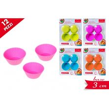 Picture of SILICONE BAKING CASES X 12