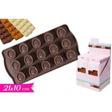 Picture of CHOCOLATE MOULD FOR 15 SMALL CHOCOLATES
