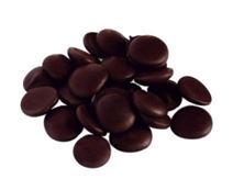 Picture of FINE ITALIAN DARK CHOCOLATE DISCS 500g