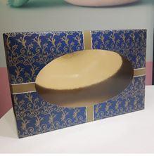 Picture of FIGOLLA  BOX BLUE & GOLD  29.5 x 19.2 x 5cm