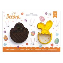 Picture of BASKET & BUNNY COOKIE CUTTER SET